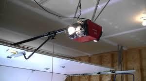 Belt Driven Ceiling Fan Diy by Garage Doors Garage Doorner How To Shorten And Cut The Rail In