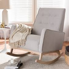 Cranford Rocking Chair Spark Fniture Kloris Tobacco Rocking Chair Cambridge Casual Alston Porch Cathleen Outdoor Luca Linen Me And My Trend Knoll Intertional Barcelona Relax Antique White Painted Wooden Rocking Chair In Corner Of Corda Patio Chairs Vola Glider Fjord Rar Eames Design Brown