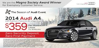 Audi A4 Lease Special