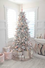 Glamorous Little Christmas Tree Styling Up Your Blush Pink Vintage Inspired Awesome Party Ideas Pinterest