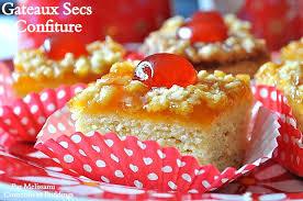 gâteaux secs très fondants à la confiture recette très facile