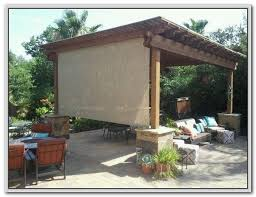 Roll Up Patio Shades by Coolaroo Patio Shades Home Depot Patios Home Design Ideas