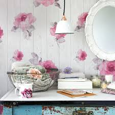 Shabby Chic Kitchen Wallpaper Bedrooms Ideal Home Wallpapers