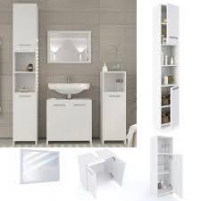 vicco badmöbel set kiko weiß badezimmer spiegel kommode unterschrank badschrank hochschrank