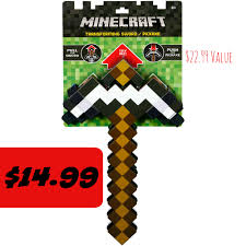 Kmart Bath Gift Sets by Kmart 14 99 Minecraft 2 In 1 Sword And Pickaxe 22 99 Value
