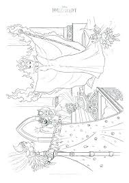 Villain Coloring Pages Villains With Download Maleficent General Free Disney Color