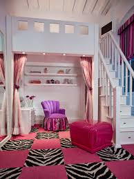 Zebra Print Decorating Ideas Bedroom Elegant Teenage Girl Interior