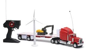 Buy Remote Controlled BP Gasoline Semi Tractor Trailer Toy Tanker ...