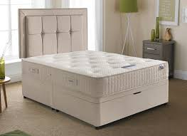 Super King Size Ottoman Bed by Silentnight Delamere Pocket Sprung Ottoman Bed Firm Dreams