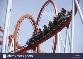 khan port aventura khan roller coaster universal port aventura theme park