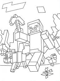 Minecraft Coloring Pages Stampy 2488965