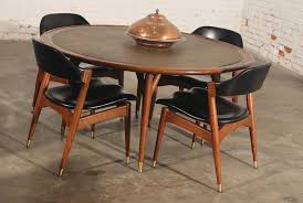 Americana Casual Game Table Chairs By Jack Van Der Molen For Jamestown Lounge Company