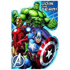 Avengers Party Invitations Holaibmdatamanagementco