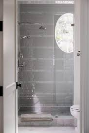 gray border shower tiles design ideas
