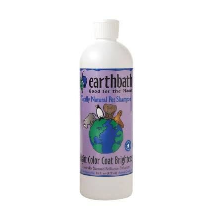Earthbath Light Coat Pet Shampoo - Lavender, 472ml