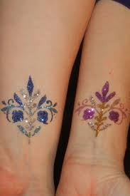 Glitter And Temporary Tattoos