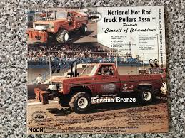 100 Indiana Truck Pullers Vintage Truck Tractor Pull Hero Cards Ushra Ntpa 1893335001