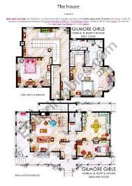 100 Gilmore Girls House Plan