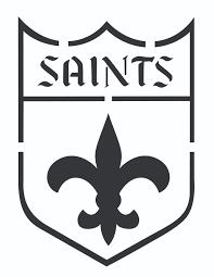 Pumpkin Carving Stencils 2015 by New Orleans Saints Pumpkin Stencils