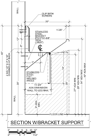 Floor Mounted Mop Sink Dimensions by Ada 4 Users 96