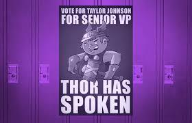 25 Hilarious Student Council Campaign Poster Ideas