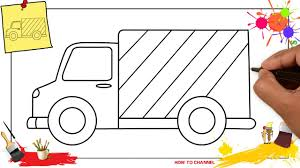 How To Draw A Delivery Truck EASY & SLOWLY Step By Step For Kids ... How To Draw The Atv With A Pencil Step By Pick Up Truck Drawing Car Reviews 2018 Page Shows To Learn Step By Draw A Toy Tipper 2 Mack 3d Pickup 1 Cakepins Truck Youtube Cars Trucks Sbystep Itructions For 28 Different Vehicles Simple Dump Printable Drawing Sheet Diesel Drawings Best Of Monster An F150 Ford