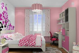 Bedroom Interior Design Pink Female Students