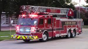 100 Rescue Truck Plano Fire 1 Engine 1 Med 1 Responding Full House