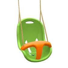 balancoire siege trigano amca siège balançoire vert et orange pas cher