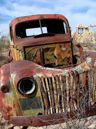 100 Rusty Trucks Days Gone By In Big Bend Is A Photograph By Madonna Kimball Old