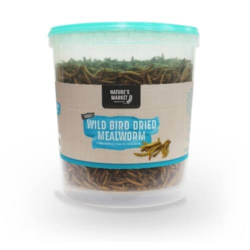 Kingfisher Dried Mealworm Wild Bird Feed - 400g