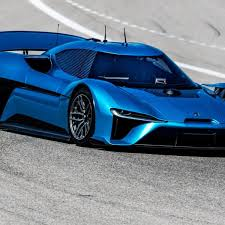 NIO EP9 Electric Supercar Shatters SelfDriving Records At Circuit