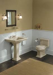 Kohler Memoirs Pedestal Sink 27 by Faucet Com K 3453 47 In Almond By Kohler