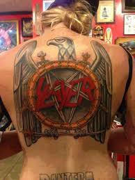 Slayer Tattoos Slaaaaaayer Metal Heavy Metal Slayer