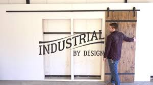 Step-By-Step 13' Double Barn Door Hardware Installation ... Best 25 Sliding Barn Door Hdware Ideas On Pinterest Diy Shop Reliabilt Solid Core Soft Close Pine Barn Interior Door With Bedroom Installation Small Hdware Bifold 13foot Kit Industrial By Design Ideas Doors With Also Jeldwen 42 In X 84 Rustic Unfinished Wood Install Pulls The Home Before After Decorating Lonny Austin Double Bypass Modern Systems Krownlab Track Trk100 Rocky Mountain How To Blesser House