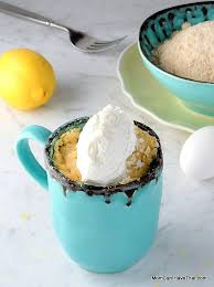 Low Carb Lemon Mug Cake Mix Sugar free Lemon Cake