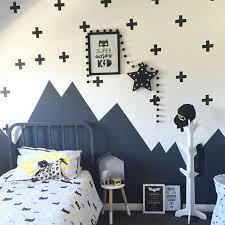 Simple Batman Wall Art Decal For Kid Bedroom Design