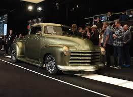 100 Custom Old Trucks 1951 CHEVROLET 3100 CUSTOM PICKUP 2018 Scottsdale Auction