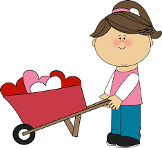 500x457 Valentine 39s Day Clip Art Free Girl Pushing Wheelbarrow of Hearts