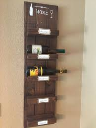diy wood wine rack hometalk