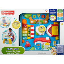 Fisher-Price Laugh & Learn Around The Town Learning Table ... Fisher Price Laugh And Learn Farm Jumperoo Youtube Amazoncom Fisherprice Puppys Activity Home Toys Animal Puzzle By Smart Stages Enkore Kids Little People Fun Sounds Learning Games Press N Go Car 1600 Counting Friends Dress Sis Up Developmental Walmartcom Grow Garden Caddy
