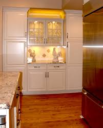 glass door kitchen cabinet lighting for small kitchen decoration