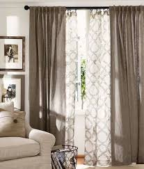 Pottery Barn Outdoor Curtains by Best 25 Layered Curtains Ideas On Pinterest Window Curtains