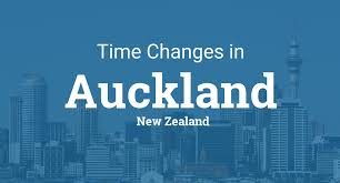 Time changes in year 2018 for New Zealand – Auckland