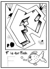 Free Printable Graffiti Letters Alphabet Coloring Pages