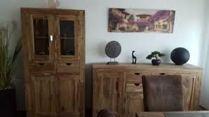 esszimmer tisch sideboard vitrine sheesham