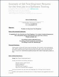 Selenium Resume And Fresh Selenium Testing Resume New Resume ...