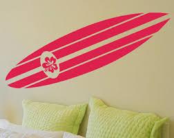 Decorative Surfboard Wall Art by Surfboard Wall Art Etsy