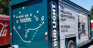 100 Bud Light Truck Eagles Fans Get Philly Special Truck Philly Philly Packs From