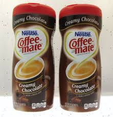 Coffee Mate Creamy Chocolate Non Dairy Creamer 15 Oz Container Lot Of 2